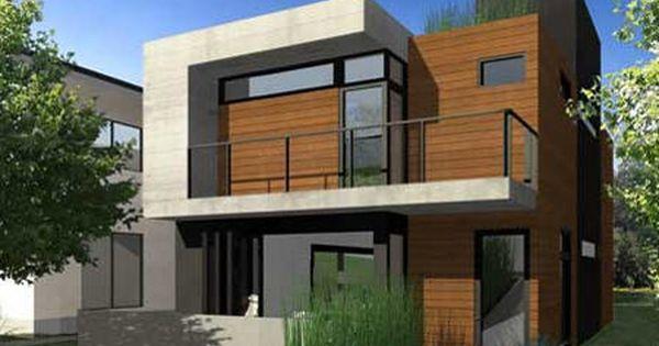 Fachada de casas en esquina buscar con google casas y - Casas prefabricadas costa rica ...
