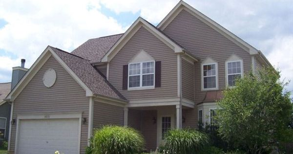 Pebble Clay Siding Gaf Mission Brown Roof Home