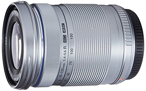 Olympus M 40 150mm F4 0 5 6 R Zoom Lens Silver For Oly Zoom Lens Telephoto Zoom Lens Panasonic Camera