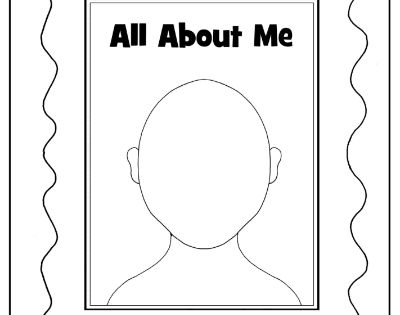 all about me book for preschool - this link is broken, but