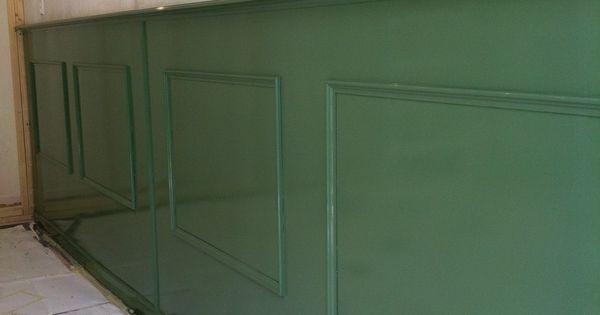Lambrisering haarlem schilderwerk pinterest lambrisering ingebouwde kast en cafe interieur - Lambrisering lijstwerk ...