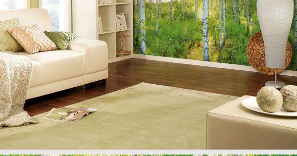 hol dir den wald ins wohnzimmer mit dieser coolen fototapete gibt 39 s bei hornbach tapeten. Black Bedroom Furniture Sets. Home Design Ideas