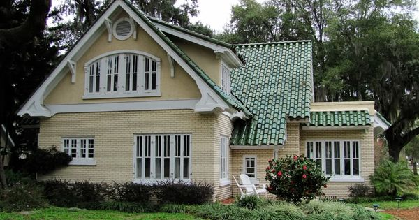 Houses With Green Coloured Roofs House Would This Be