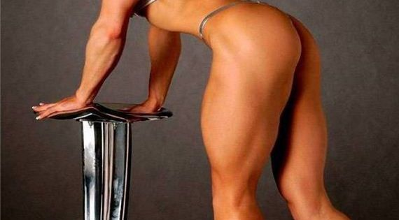 Muscle lady fitness training hot sexy - 3 part 10