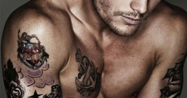 hot tattooed men tattoos men art inked