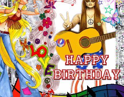 Hippie Birthday Happy Birthday Pinterest Hippie