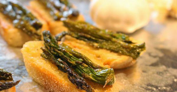 Asparagus, Garlic and Vegans on Pinterest