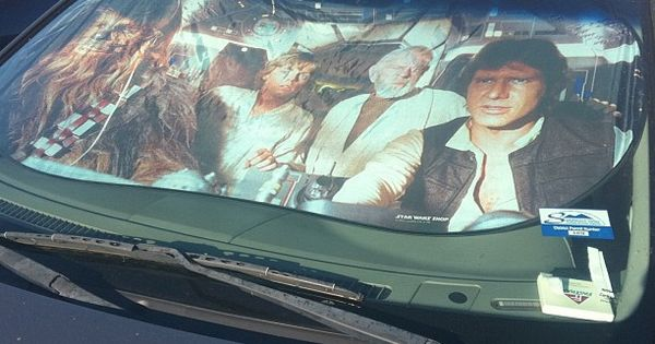 Star Wars sunvisor!! :) lo quiero