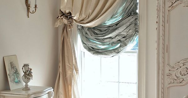 Master Bedroom curtain idea