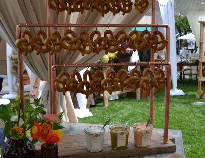 Wedding Food Ideas Get Creative I Do Knot: A Pretzel Bar! #pretzel #wedding
