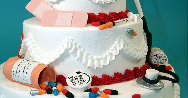 Graduation Cake Nurse Cake