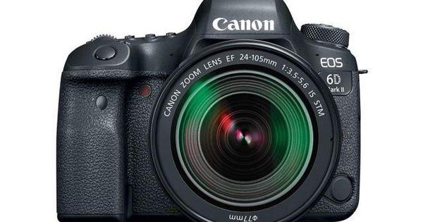 Canon Eos 6d Mark Ii 26 2mp Full Frame Digital Slr Camera With Ef 24 105mm Is Stm Lens Canon Digital Slr Camera Digital Slr Camera Canon Eos