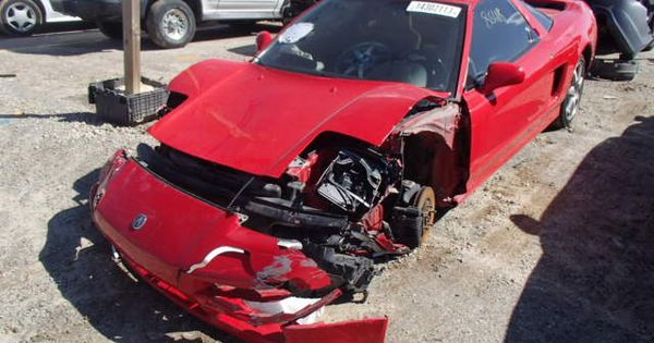 Nsx Front End Wreck Nsx Honda Salvage Cars Car Auctions Cars