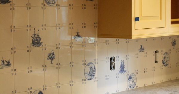 Delft Tile Back Splash Waterford Ct Art Gagne Custom Tile Installation Pinterest Delft