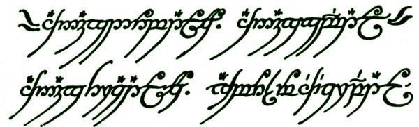 One Ring To Rule Them All Quote Page Number One Ring To Rule Them All One Ring To Find Them One Ring To Bring Them All And In The Darkness Bind Elvish Writing Lord Of The Rings Tattoo Lord Of