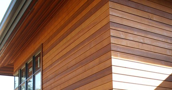 Flush Corner Cedar Siding Cedar Siding Wood Siding Exterior Cladding