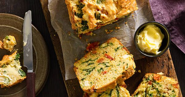 Feta and vegetable loaf recipe better homes and gardens Yahoo better homes and gardens