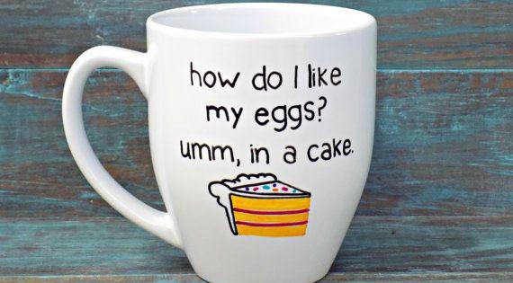 How Do I Like My Eggs Umm In A Cake