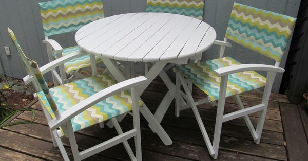 Indoor/Outdoor Table And Chairs