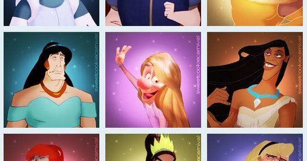 Disney Villains Dress Like Princesses.