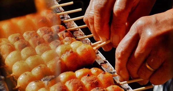 Japan dumplings
