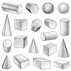 Image Result For Shapes Drawing Academic Geometric Shapes Drawing Geometric Drawing Geometric Art