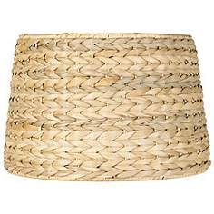 Rattan Wicker Lamp Shades Lamps Plus Drum Lampshade Drum