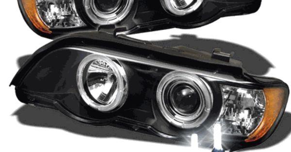 Hid Xenon 01 03 Bmw X5 E53 Angel Eye Halo Projector