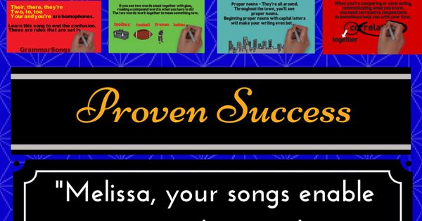 These catchy and fun lyrics and melodies make learning effortless for achieving life-long educational goals. I wrote these songs and created these activities to teach my students for life; therefore, I use an innovative method for reaching multiple learni...