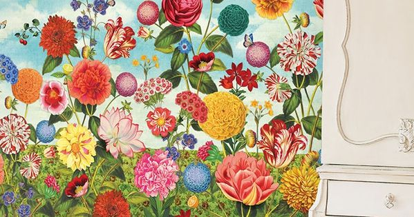 PiP Wild Flowerland | Wallpaper | PiP Studio ©Maria will have it