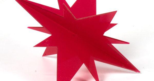 Estrella metacrilato con puntas de much simos colores y for Cataleg punts estrella