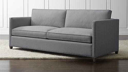 Dryden Sofa Modern Grey Sofa Sleeper Sofa Apartment Sofa