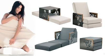 Kube Armchair Bed Convertible Into Armchair Sun Lounger Low Table By Ego Paris Decoracion De Unas Mobiliario Muebles