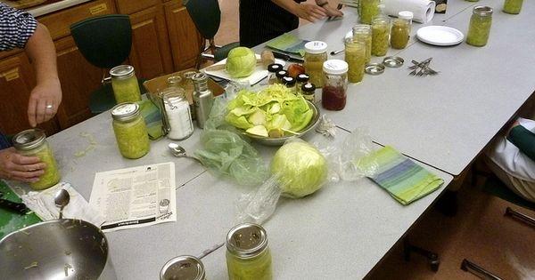 Putting Up: Small-Batch Sauerkraut by leduesorelle, via Flickr ...