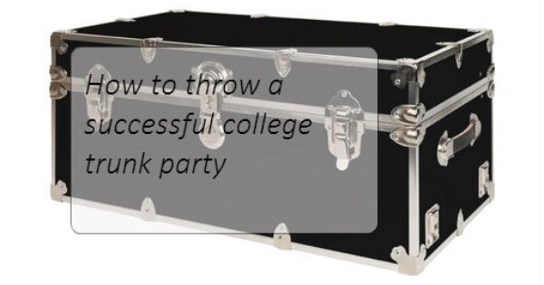 Planning A Successful Trunk Party Invitation Template