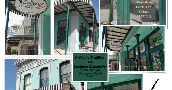 Three Georges Chocolate Shop In Downtown Mobile Alabama Photographed By Rene