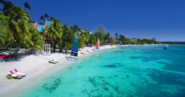 Beautiful Beach In Negril Jamaica Dreams Of Travel Pinterest Negril And Negril Jamaica