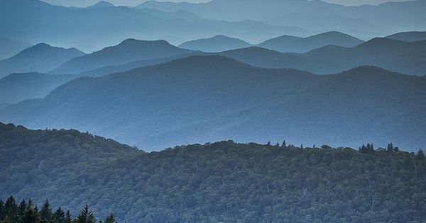 Blue Ridge Parkway, Appalachian Mountains, North Carolina