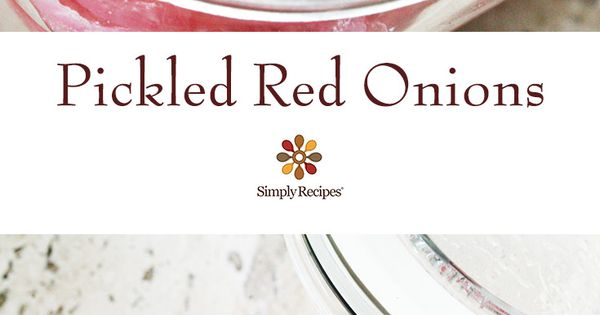 Make Pickled Red Onions | Recipe | Pickled Red Onions, Onions and Make ...