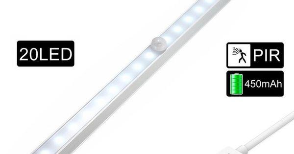 Zjright Energy Saving Auto Motion Sensor 18led Lights Wireless Pir Cabinet Lamp Kitchen Bedroom Wardrobe Indoor Stairs W Wall Lamp Night Light Lamp Save Energy