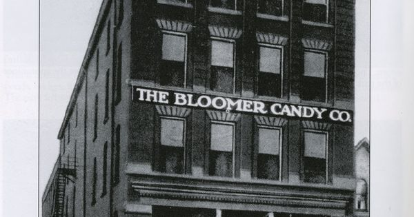 Bloomer Candy Co Zanesville Ohio This Building Is Still