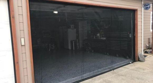 Frenchporte Madeleine 108 In X 96 In White Single Garage Door With Windows Fpm98whnik In 2020 Single Garage Door Garage Doors Garage Door Windows