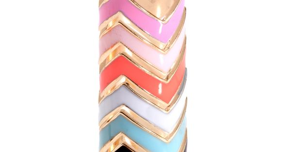 chevron rings from asos