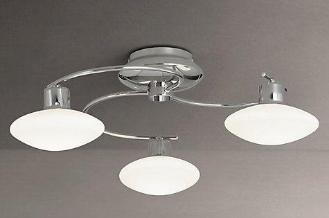 Led Ceiling Lights John Lewis : Buy john lewis tameo arm led ceiling light chrome opal