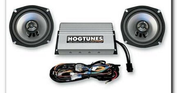 Hogtunes Nca 70 2 Rev Series Amp With Speakers 98 12 Harley Flht