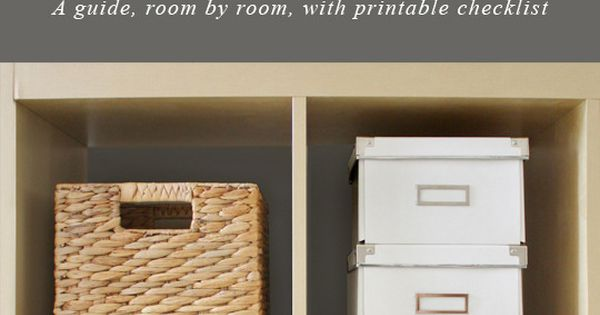 How I simplified and organized my house, room by room homeorganization