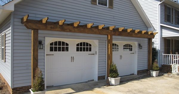 Vinyl Arbor Over Garage Door | Landscape Design | Pinterest | Vinyls, Door  arbor and Over the - Vinyl Arbor Over Garage Door Landscape Design Pinterest