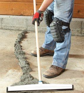 Repairing Common Concrete Slab Problems The Concrete Network In 2020 Basement Flooring Concrete Garages Repair Cracked Concrete