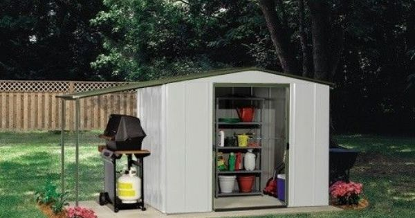 arrow metal sheds 6 x 5 storage canopy small backyard garden shed kit