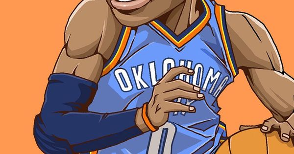 Russell Westbrook. Tap to see Collection of Famous NBA